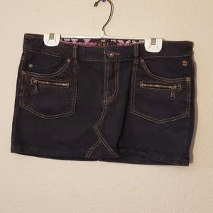 Billabong jean skirt 11